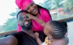 PHOTOS - Le couple Maabo en toute complicité avec leur fille