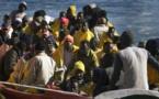 Migration vers l'Europe: Une pirogue avec à son bord 140 personnes, interceptée vendredi en Mauritanie