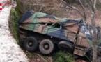 Louga : Un cargo militaire se renverse et fait plus de 15 blessés
