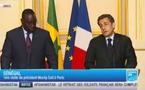 Intégralité de la conférence de presse de Sarkozy et Macky Sall