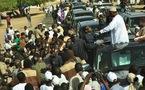 Macky Sall de nouveau pris dans les embouteillages