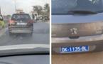 Photos: Incroyable, 2 véhicules différents avec le même numéro d'immatriculation
