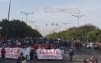 """MARCHE """"NIO LANK"""" contre la hausse de l'électricité: Les images de la rencontre !"""