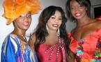 La chanteuse Daba Seye en feeling sagne sé avec les mannequins Yacine Barre et Eva Ndiaye !!!