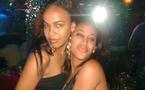 Deux soeurs en feeling Dakar by night !!!