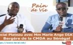 (VIDEO) PAIN DE VIE - Spécial plateau avec Mme Marie Ange DIATTA bergère de la C.M.D.A au Sénégal - LERAL TV