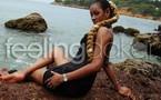 La belle poular Khadija Diallo en feeling pose photo au bord de la mer: Elle sera notre mannequin de la semaine !!!
