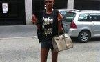 Nogui Dieng dans les rues de Milan !