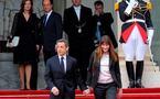 Le départ de Nicolas Sarkozy de l'Elysée