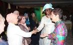 Photos : La première sortie officielle de Mareme, la femme de Macky Sall