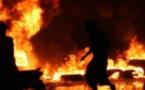 Pikine: violent incendie à ''Paak Lambaye''