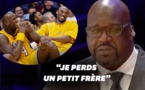 VIDEO - En larmes, Shaquille O'Neal raconte comment il a appris la mort de Kobe Bryant