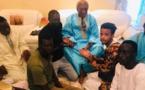 PHOTOS - Serigne Abdou Karim Mbacké reçoit le fils de Luc Nicolaï