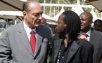 Chirac fan de Baba Maal?