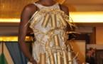 Le mannequin Fleur Mbaye sur scéne en mode projectile!