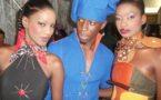 Astou Dieng , Alioune Sow et Yacine Bare lors du délifé des jeunes créateurs de Sira vision
