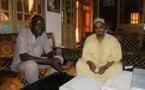 Fadel Mbacké administrateur du site assirou.net avec Ahmed Khalifa Niass: En feeling tournage de sa nouvelle émission (ON PARLE DE TOUT)