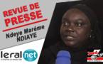 Revue de presse de Sud FM du Lundi 30 mars 2020 avec Ndèye Marième Ndiaye