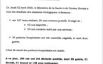 Institut Pasteur : 5 nouveaux cas testés positifs au Coronavirus, 10 nouveaux guéris
