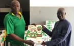 Lutte contre le Covid 19: Baba Tandian offre un million d'affiches au ministère de la santé...