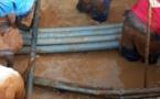 FUITE D'EAU A PETERSEN: Les travaux de réparation en cours