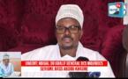 VIDEO - Déclaration au nom du Khalife général des Mourides sur l'organisation des prières à la Grande mosquée de Touba