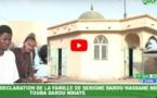VIDEO - Déclaration au nom du Khalife de Darou Ndiaye, sur les dégâts des policiers dans la mosquée