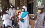 Covid-19: La Fonction publique appuie le ministère de l'Intérieur en masques (Photos)