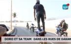Découverte: Incroyable ce que fait Doro Tmax sur sa moto en pleine ville, Regardez!