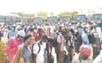 Reprise des cours le 2 juin: Ralliement massif des enseignants au terminus des bus Dem Dikk (Vidéo)