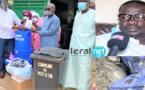 VIDEO - Thermoflashs, masques, gels hydroalcooliques...: le maire Banda Diop arme les écoles de la commune de Patte d'Oie