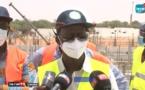 Visite de chantier du  DG de la Sones, Charles Fall dans la commune de Keur Momar Sarr (Vidéo)