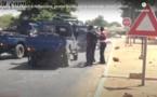 Vidéo / Révolte des chauffeurs à Ndiassane: Des pneus brûlés et un grand renfort de force de l'ordre déployé