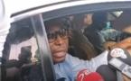 VIDEO - Déclaration de Barthélémy Dias après sa sortie de la SR de Colobane