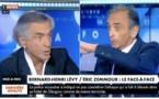 Accrochage très tendu entre Éric Zemmour et Bernard Henri-Levy sur CNews (VIDEO)