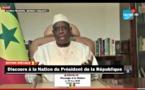 REPLAY - INTEGRALITE DU DISCOURS A LA NATION DU PRÉSIDENT DE LA RÉPUBLIQUE