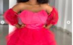 """PHOTOS- Aicha Koné de """"Sen Petit Gallé"""" devient coquette et le prouve avec sa robe rose de princesse!"""