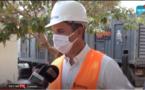 VIDEO - Travaux de réalisation de la ligne haute tension du nouveau site de Kms3, l'hivernage...Silvain Betry de Sen'Eau explique !