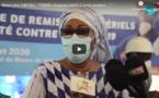 """Vidéo-Remise de don aux acteurs de l'assainissement: Mme Léna Tall Faye: « L'ONAS a toujours  été à côté  de nous..... """""""