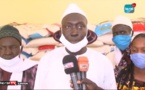 LOUGA - Thierno Dieng, Maire de la commune de Mbédiene au chevet des populations de sa commune, 20 tonnes de riz distribuées (Vidéo)