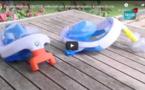 VIDEO / Covid-19: 60 masques de plongée Décathlon remis à des hôpitaux et centres de santé par Dr. Mathieu Vautier
