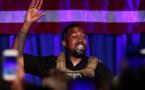 Présidentielle américaine: Kanye West lance sa campagne lors d'un meeting décousu