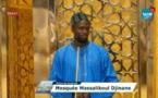 Prière du vendredi à la Grande Mosquée Massalikul Djinaan