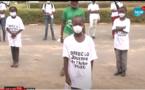 Vidéo - Journée de l'Arbre à Louga: La troupe Ndiambour Organisation Développement sensibilise sur les gestes barrières