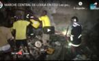 Incendie au marché central de Louga: Le commandant des pompiers explique comment le feu s'est déclenché (Vidéo)