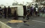 Croisement Cambérène: Un grave accident fait deux blessés