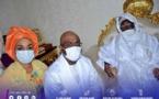 Veille de Magal de Touba 2020 : Cheikh Ahmed Tidiane Bâ, DG de la CDC,  en visite chez le Khalife général et d'autres guides religieux