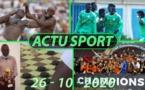 Actusport / Habib Niang appuie les lutteurs Thiessois; Amical U20 le Sénégal et le Maroc font un match nul
