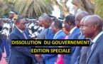 En Direct sur LERAL TV  - Edition Spéciale sur la Dissolution du Gouvernement de Macky SALL
