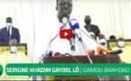Gamou Bakhdad: Serigne Khadim Lô Gaydel appelle au respect du port du masque, en prenant comme exemple Serigne Mountakha